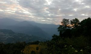 Gangtok- lovely hill station.
