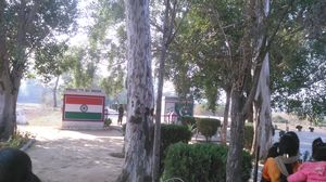 TOURIST SPOT during the day & BATTLE GROUND in the night (INDIA-PAKISTAN border,Suchetgarh-J&K)