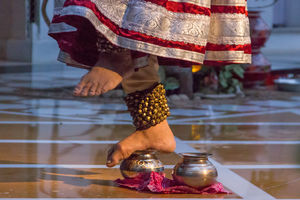 The folk dance at Taj Lake Palace Udaipur is a visual delight! #BestTravelPictures