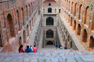 Agrasen ki Baoli - Hidden inside the heart of Delhi