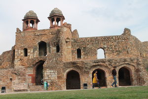 Hidden Side Of Purana Qila - Oldest Fort of Delhi