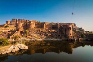 Zipline Mehrangarh:Glide Over The Majestic Mehrangarh Fort