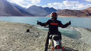 19-Year-Old Girl Conquers Khardung La Pass On Her Royal Enfield