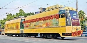 Now You Can Dine In A Colorful Tramcar Restaurant In Kolkata
