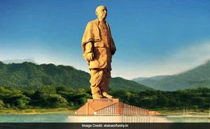 Statue of Unity: Everything You Need To Know About World's Tallest Statue