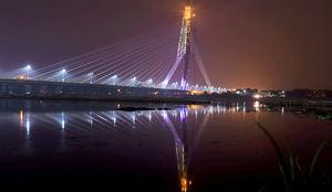 Twice The Height Of Qutub Minar, Signature Bridge Is New Tourist Spot In Delhi