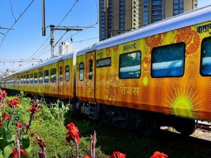 New Tejas Express Offers Business-Class On Indian Railways