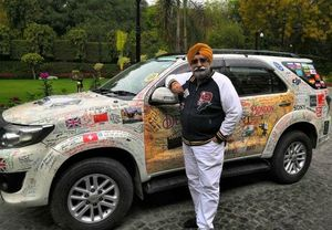 Delhi to London: 36,800 Km in 135 Days! This 60-Year-Old Man Proves Age Is Just a Number