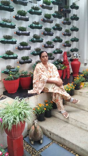 Designed with Bottles, Tyres and Old Shoes, Mysuru Woman's Garden Wins 11 Awards in a Row