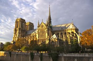 Fire Engulfs Parisian Landmark Notre Dame Cathedral