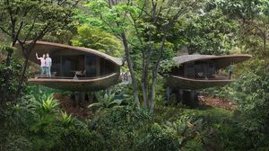 You Can Sleep in 'Seed-Pod' Rooms in This Eco-Friendly Rainforest Resort
