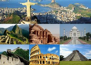 Here's How You Can See All the Seven Wonders of the World in One Magical Trip
