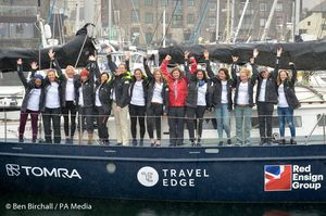 All-Women Crew on Two-Year Sea Voyage to Tackle Ocean Plastic Pollution