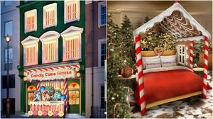 You Can Book a Stay in a Giant, Edible 'Candy Cane House' in London Under Rs 10k
