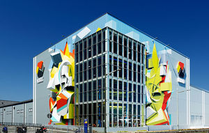 Graffiti Artist Turns Urban Buildings into 3D Masterpieces with Mind-Bending Optical Illusions