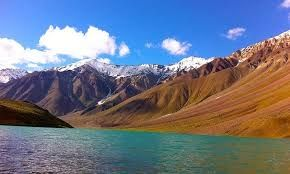 Camping not banned near Chandrataal lake,Spiti valley in d state of Himachal Pradesh