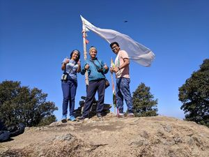 The Serpent's peak- Trek to Nag Tibba summit