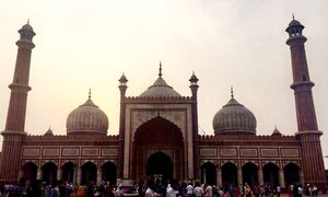 Jama Masjid and the Old Delhi streets