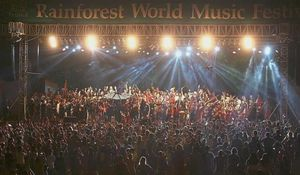 Rainforest World Music Festival in Kuching