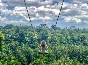 Swing your way into the most scenic landscapes on Earth