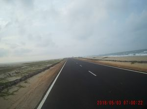 Dhanushkodi... Road that ends beautifully