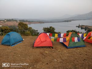 Bhandardara Campsite! Bonfire, barbecue, camping under shooting stars and a surprise birthday party!