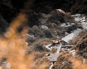 Monks in Dharamshala