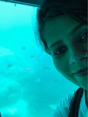 Aquatic life view in submarine #SelfieWithAView #TripotoCommunity