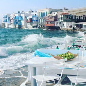 Aegean sea #windywaves #BestTravelPictures