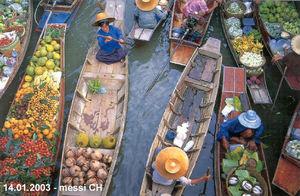 Damnoen Saduak Floating Market Damnoen Saduak Ratchaburi Thailand 1/3 by Tripoto