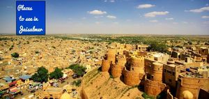 Backpacking in Jaisalmer