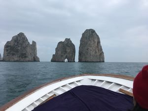 FIRST DAY IN ITALY SPENT ON THE ISLAND OF CAPRI