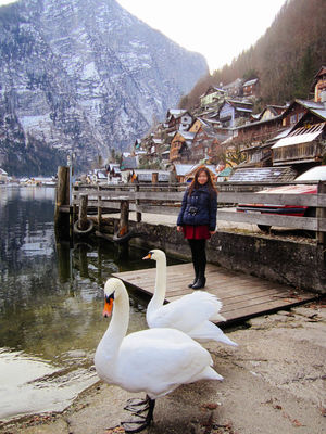 Spectacular views at Hallstatt, Austria