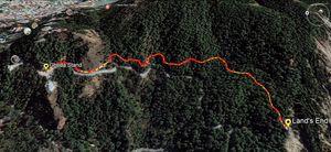 The Walking Routes of Nainital