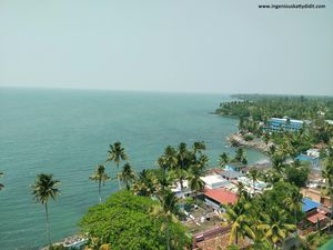A Visit To Tangasseri Light House In Kollam -Kerala