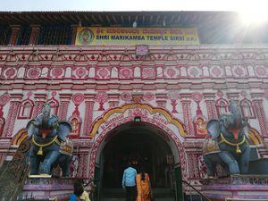 SHRI MARIKAMBA TEMPLE in SIRSI (16th Century Old temple)