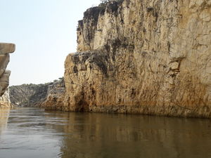 Wondering with The Sanctified Narmada, Rocking Marble Rocks and Erotic sculpture of Khajuraho.