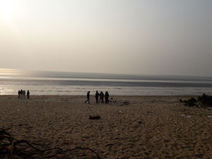 Vanishing sea of Chandipur, Odisha,a soothing weak end destination (in picture)