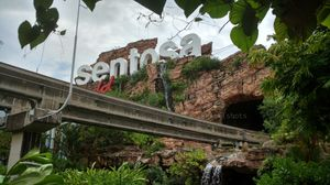 A quick visit to Universal Studio Singapore and Sentosa Island