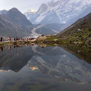 Once in a lifetime experience - Kedarnath Trek. #TripotoClicksHimalayas #Kedarnath #Himalayas