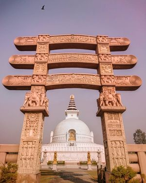 shanti stupa delhi