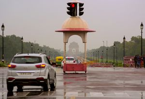 different view of india gate