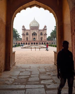 beautiful safdarjung tomb