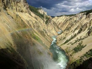 Brink of the lower falls. @yellowstone #BestTravelPictures @jetairways @tripotocommunity