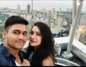 Rooftop Restaurant at  34th floor  #SelfieWithAView #TripotoCommunity