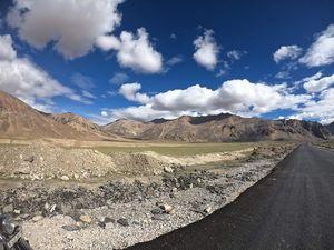 At Sarchu -Border between Himachal and Ladakh