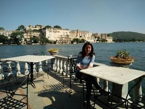 Learning to fly in Udaipur                         (My first solo trip) #BestOfTravel