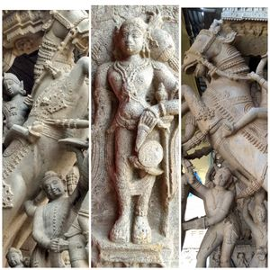1000 year Old Mummy inside a Hindu temple: Srirangam