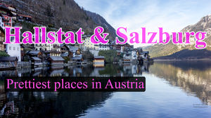 Hallstat and Salzburg - Picturesque locations in Austria
