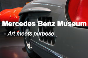 Mercedes Benz Museum - Where art meets purpose.
